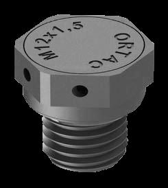 Artikelbild 1 des Artikels DAE Druckausgleichselement M12 PA6 RAL7035 Flach
