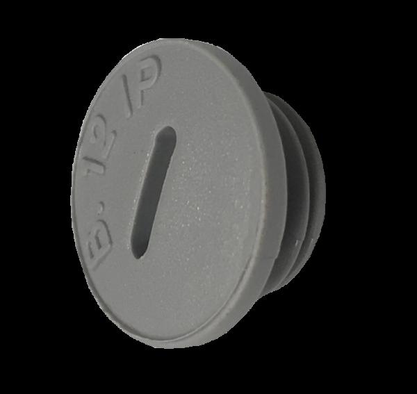 Artikelbild 1 des Artikels BLPO Blindstopfen PG9 PA6 V2 Rund RAL7035 IP54