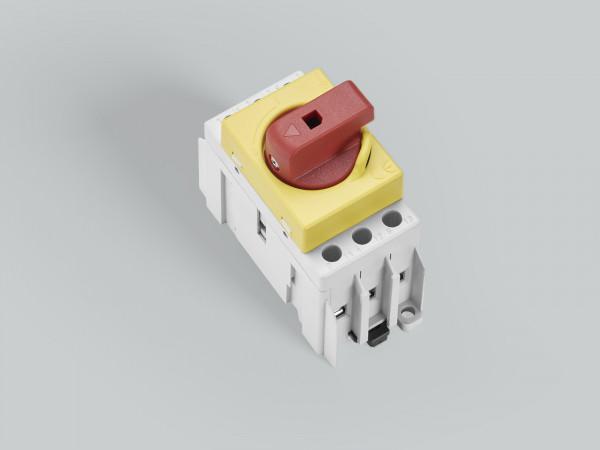 Artikelbild 1 des Artikels 33838 Lasttrennschalter 16A CAPUS 3-polig, rg