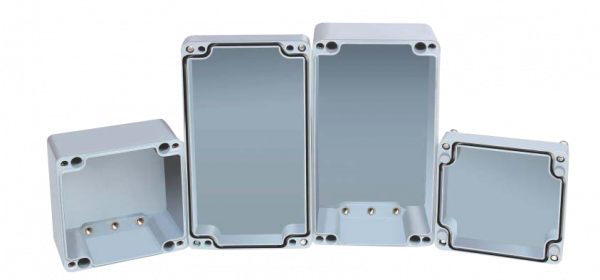 Artikelbild 1 des Artikels ETP 121290 Polyestergehäuse (122x120x90mm)