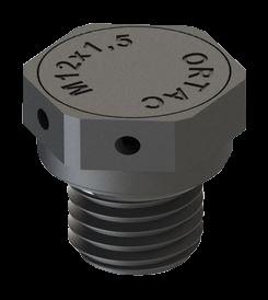 Artikelbild 1 des Artikels DAE Druckausgleichselement M12 PA6 RAL9005 Flach