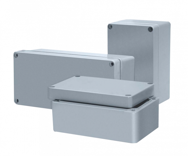 Artikelbild 1 des Artikels ETA 178055 RJ07 Aluminiumgehäuse (175x80x57) unl.